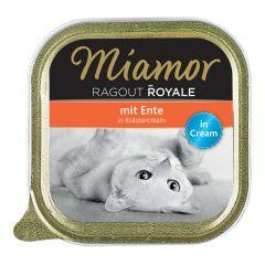 Miamor - Nassfutter - Ragout Royale Ente in Kräutercream