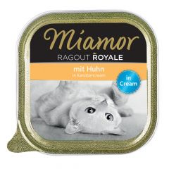 Miamor - Nassfutter - Ragout Royale Huhn in Karottencream