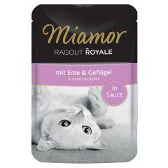Miamor - Nassfutter - Ragout Royale mit Ente und Geflügel in Sauce