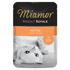 Miamor - Nassfutter - Ragout Royale mit Pute in Jelly