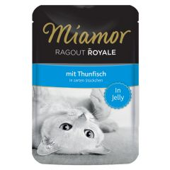 Miamor - Nassfutter - Ragout Royale mit Thunfisch in Jelly
