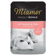 Miamor - Nassfutter - Ragout Royale mit Thunfisch und Huhn in Sauce