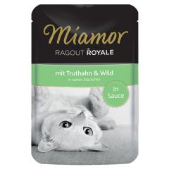 Miamor - Nassfutter - Ragout Royale mit Truthahn und Wild in Sauce