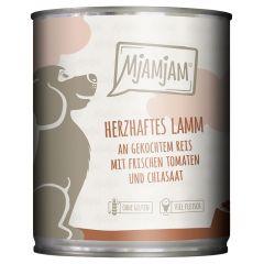 Mjamjam - Nassfutter - Herzhaftes Lamm (glutenfrei)