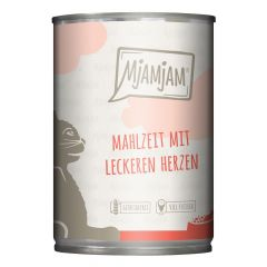 Mjamjam - Nassfutter - Mahlzeit mit leckeren Herzen (getreidefrei)