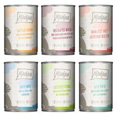 Mjamjam - Nassfutter - Mixpaket leckere Mahlzeiten (getreidefrei)