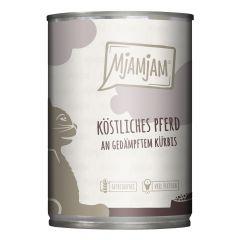 Mjamjam - Nassfutter - Köstliches Pferd (getreidefrei)