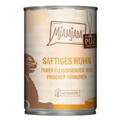 Mjamjam - Nassfutter - Pur Saftiges Huhn (getreidefrei)