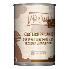 Mjamjam - Nassfutter - Pur Köstliches Lamm (getreidefrei)