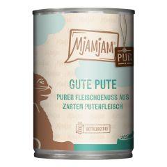 Mjamjam - Nassfutter - Pur Gute Pute (getreidefrei)