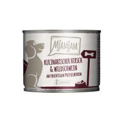 Mjamjam - Nassfutter - Kulinarischer Hirsch & Wildschwein (getreidefrei)