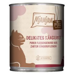 Mjamjam - Nassfutter - Pur Delikates Känguru 6 x 400g (getreidefrei)