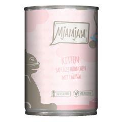 Mjamjam - Nassfutter - Kitten saftiges Hühnchen mit Lachsöl (getreidefrei)