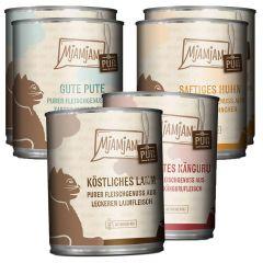 Mjamjam - Nassfutter - Mixpaket V Purer Fleischgenuss (getreidefrei)