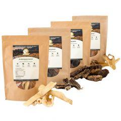 Natural - Kausnack - Mix-Paket Rind für Hunde (getreidefrei)