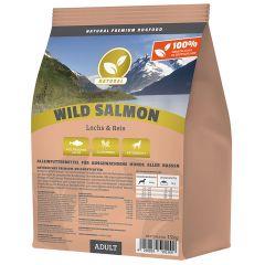 Natural - Trockenfutter - Wild Salmon mit Lachs 15kg