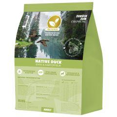 Natural - Trockenfutter - Native Duck mit Ente und Kartoffeln (getreidefrei)