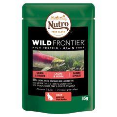 Nutro - Nassfutter - Wild Frontier Adult Lachs & Huhn (getreidefrei)