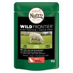 Nutro - Nassfutter - Wild Frontier Adult Lamm & Rind (getreidefrei)