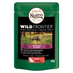 Nutro - Nassfutter - Wild Frontier Adult Truthahn & Huhn (getreidefrei)