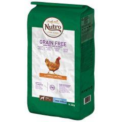 Nutro - Trockenfutter - Grain Free Adult Huhn für große Hunde (getreidefrei)