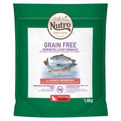 Nutro - Trockenfutter - Grain Free Adult Lachs & Weißfisch (getreidefrei)