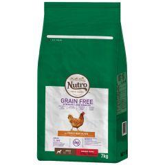 Nutro - Trockenfutter - Grain Free Adult Huhn für kleine Hunde (getreidefrei)
