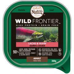 Nutro - Nassfutter - Wild Frontier Lachs und Huhn (getreidefrei)