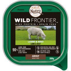 Nutro - Nassfutter - Wild Frontier Lamm und Rind (getreidefrei)