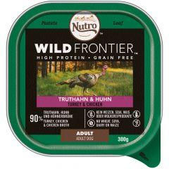 Nutro - Nassfutter - Wild Frontier Truthahn und Huhn (getreidefrei)