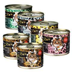 O'Canis - Nassfutter - Mixpaket für Katzen (getreidefrei)