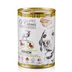 O'Canis - Nassfutter - Hirsch mit Buchweizen, Cranberry & Lauch