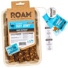 Roam Pet Treats - Hundesnack - Strauß Kaustreifen Ossy Jerky (getreidefrei)