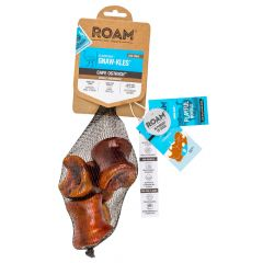 Roam Pet Treats - Hundesnack - Strauß Kauknochen Gnaw-kles (getreidefrei)