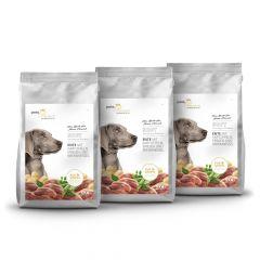 pets Premium - Trockenfutter - Soft Vorteilspaket Ente mit Kartoffeln, Erbsen und Brennnessel 3 x 5kg