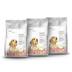 pets Premium - Trockenfutter - Soft Vorteilspaket Puppy Huhn mit Kartoffen, Äpfeln und Kamille 3 x 5kg