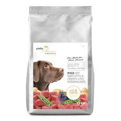 pets Premium - Trockenfutter - Soft Rind mit Kartoffeln, Erbsen und Enzianwurzel 1,5kg (getreidefrei)