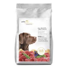 pets Premium - Trockenfutter - Soft Rind mit Kartoffeln, Erbsen und Enzianwurzel (getreidefrei)