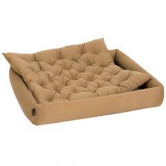 Pointer - Hundebett - Hundebett im Set mit Einlagekissen in Khaki