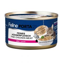 Porta 21 - Nassfutter - Huhn pur natural