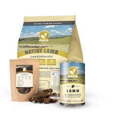 Natural - Trockenfutter - Premium Paket Trockenfutter 15kg + Nassfutter 6 x 400g + Snack 300g