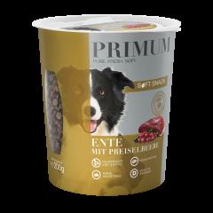 Primum - Hundesnack - Soft Snack Ente mit Preiselbeere (getreidefrei)