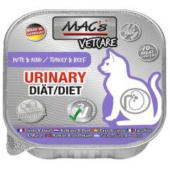 Mac's - Nassfutter - Katze Vetcare Urinary Pute & Rind