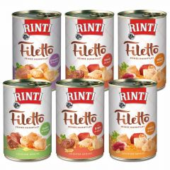 Rinti - Nassfutter - Probe-Paket Filetto