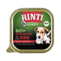 Rinti - Nassfutter - Feinest Bio Rind (getreidefrei)