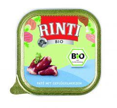 Rinti - Nassfutter - Bio Geflügelherzen (getreidefrei)