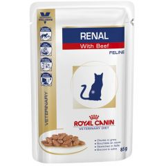 Royal Canin Veterinary Diet - Nassfutter - Renal Beef Feline