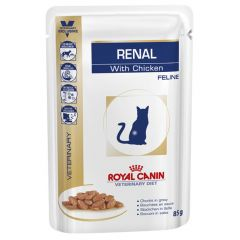 Royal Canin Veterinary Diet - Nassfutter - Renal Chicken Feline