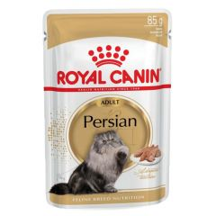 Royal Canin - Nassfutter - Breed Persian Adult Katzenfutter nass für Perser-Katzen