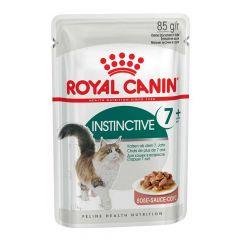 Royal Canin - Nassfutter - Health Instinctive 7+ Nassfutter in Soße für ältere Katzen